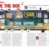 Center spread for Trains magazine, November 2011.